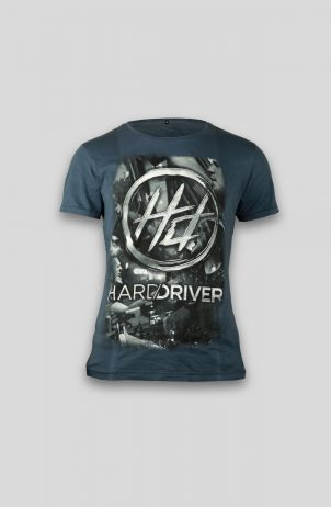 Hard Driver Vintage Blue Shirt