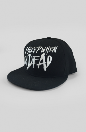 Sleep When I'm Dead Snapback