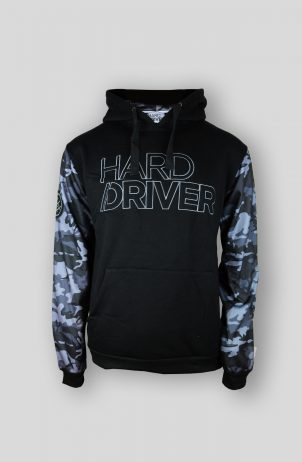 Hard Driver Camo Hooded Sweater