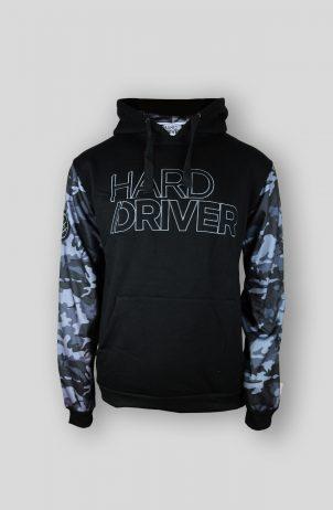 Hard Driver Camo Hooded Sweater